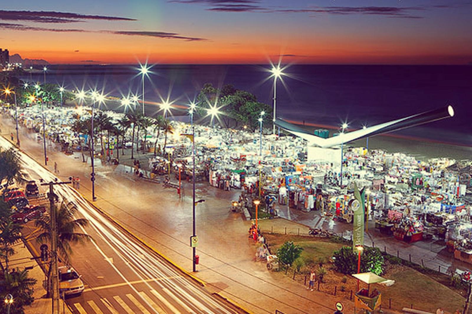 Feirinha da Beira-Mar: o prazer de ir às compras curtindo a brisa!